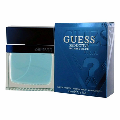 Guess Seductive Homme Blue by Guess, 3.4 oz Eau De Toilette Spray for Men