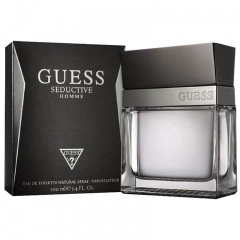 Guess Seductive by Guess Eau de Toilette 3.4 Oz Spray For Men