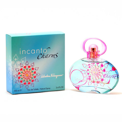 "Incanto ""Charms"" by Salvatore Ferragamo Eau De Toilette 3.4 Oz Spray For Women"