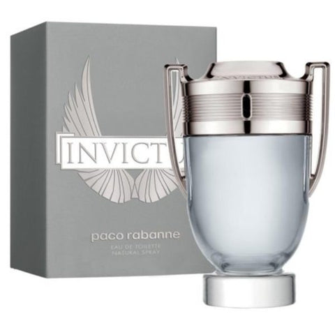 Invictus Cologne by Paco Rabanne Eau De Toilette 3.4 Oz Spray For Men