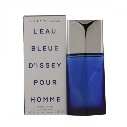 Issey Miyake L' Eau Bleue d' Issey Pour Homme Cologne for Men 2.5 oz EDT