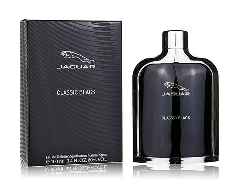 Jaguar Classic Black by Jaguar Eau de Toilette 3.4 Oz Spray For Men