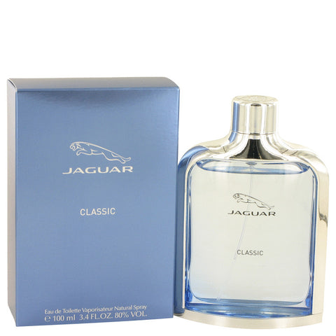 Jaguar Classic Blue by Jaguar Eau de Toilette 3.4 Oz Spray For Men