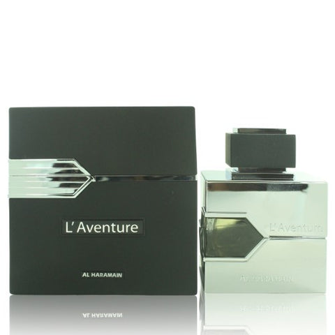 L'aventure Eau De Parfum Spray 3.3 Oz. /100 Ml for Men by Al Haramain