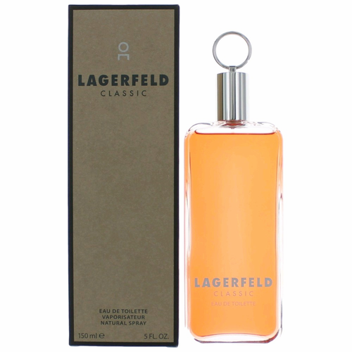 Lagerfeld Classic by Karl Lagerfeld, 5 oz Eau De Toilette Spray for Men