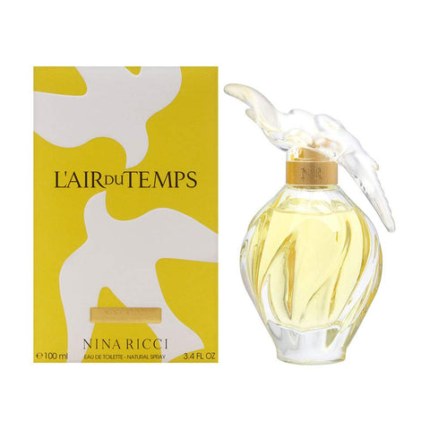 L'air Du Temps by Nina Ricci Eau De Toilette 3.4 Oz Spray For Women