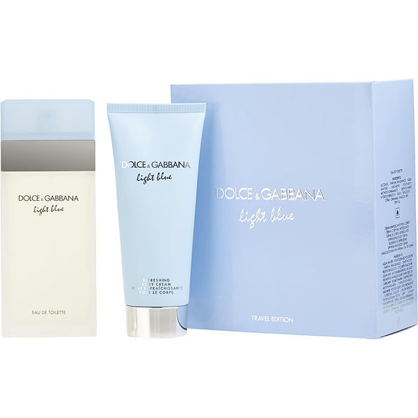 Dolce & Gabbana Light Blue Perfume Gift Set for Women, 2 Pieces
