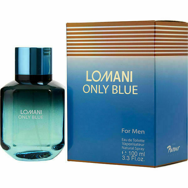 Lomani Only Blue by Lomani Eau de Toilette 3.3 Oz Spray For Men