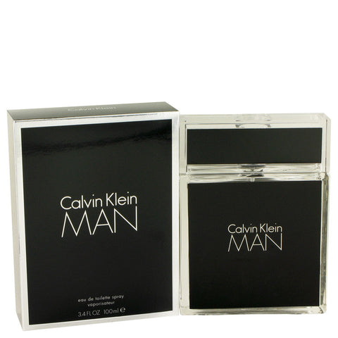 Calvin Klein Man by Calvin Klein Eau de Toilette 3.4 Oz Spray For Men