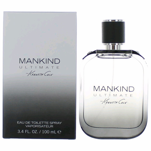 Mankind Ultimate by Kenneth Cole, 3.4 oz Eau De Toilette Spray for Men