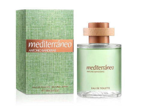 Mediterraneo by Antonio Banderas Eau De Toilette 3.4 Oz Spray For Men