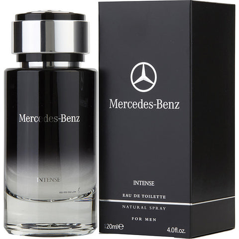 Mercedes Benz Intense by Mercedes Benz Eau de Toilette 4.0 Oz Spray For Men