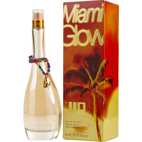 Jennifer Lopez Miami Glow Eau De Toilette 3.4 Oz Spray For Women