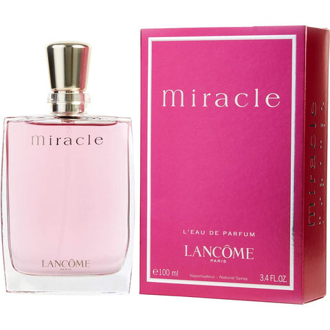 Miracle by Lancome Eau de Parfum 3.4 Oz Spray For Women