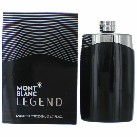 Mont Blanc Legend Cologne by Mont Blanc, 6.7 oz Eau De Toilette Spray for Men