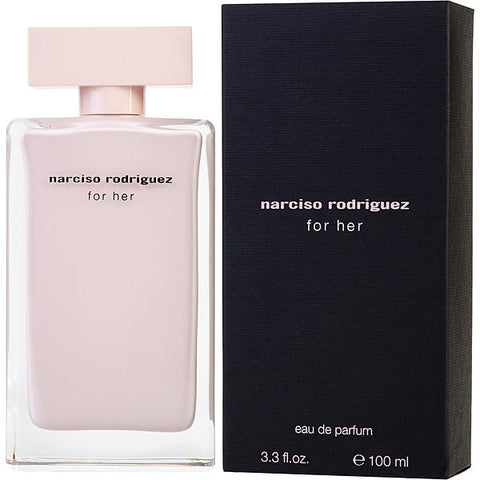 Narciso Rodriguez For Her by Narciso Rodriguez Eau de Parfum 3.3 Oz Spray For Women