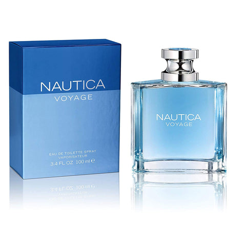 Nautica Voyage by Nautica Eau De Toilette Spray 3.4 oz Spray For Men