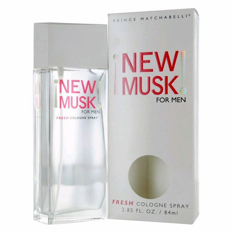 New Musk by Prince Matchabelli, 2.85 oz Fresh Cologne Spray for men