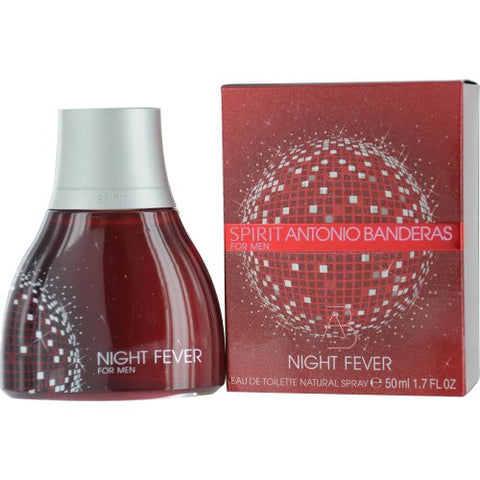 Spirit Night Fever By Antonio Banderas EDT 1.7 Oz spray For Men