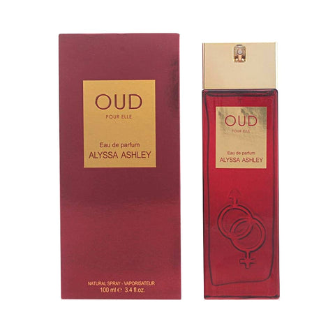 Oud Pour Elle by Alyssa Ashley Eau de Parfum 3.4 Oz Spray For Women