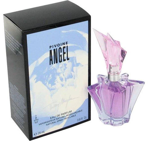 Peony Angel by Thierry Mugler Eau de Parfum 0.8 Oz Refillable Spray For Women