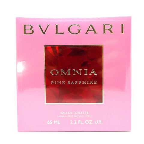 Omnia Pink Sapphire by Bvlgari Eau De Toilette 2.2 Oz Spray For Women