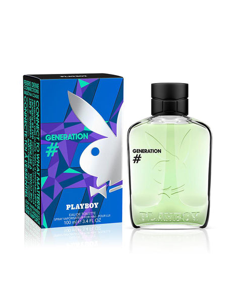 Playboy Generation BY Playboy Eau De Toilette Spray 3.4 oz Men