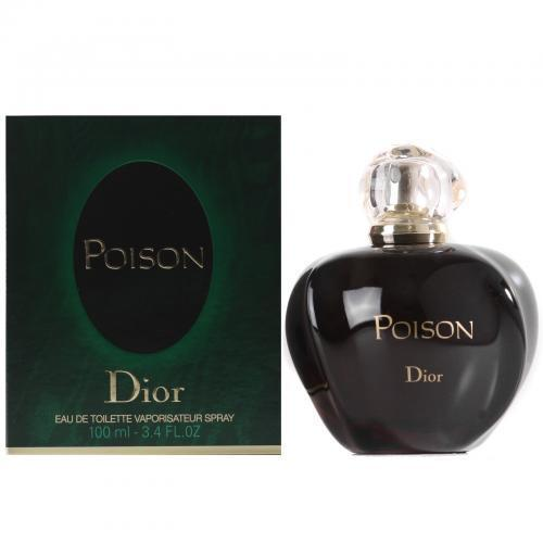 Poison By Christian Dior Eau De Toilette 3.4 Oz Spray For Women