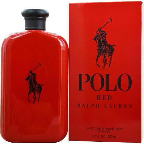 POLO RED COLOGNE BY RALPH LAUREN 4.2 Oz