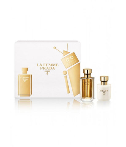 Le Femme Prada Eau de Parfum 1.7 Oz Spray For Women Gift Set