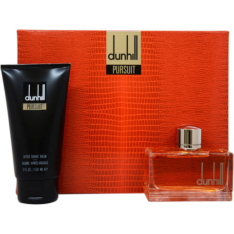 Alfred Dunhill Pursuit Cologne 2.5 OZ for Men Eau De Toilette Spray 2 Pc Gift Set