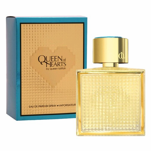 Queen of Hearts by Queen Latifah, 3.4 oz Eau De Parfum Spray for Women