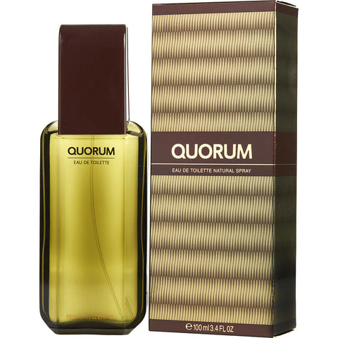 Quorum by Antonio Puig Eau de Toilette 3.4 Oz Spray For Men