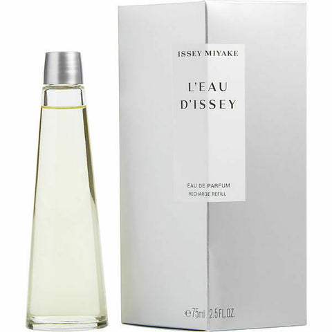 "L'eau D'issey by Issey Miyake ""Recharge Refill"" Eau De Parfum 2.5 Oz Spray For Women"