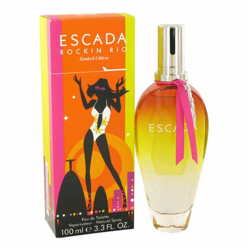 Rockin' Rio by Escada, 3.4 oz Eau De Toilette Spray for Women Limited Edition