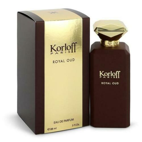 Royal Oud by Korloff Paris Eau De Parfum 3.0 Oz Spray For Women