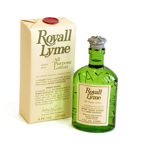 "Royall Lyme by Royall Fragrances ""All Purpose Lotion"" 4.0 Oz Spray For Men"