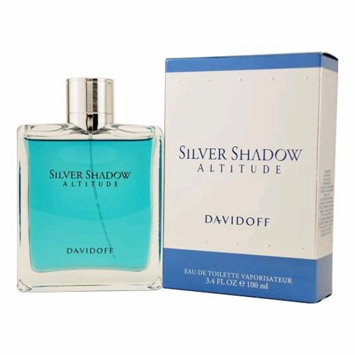 Silver Shadow Altitude by Davidoff, 3.4 oz Eau De Toilette Spray for Men