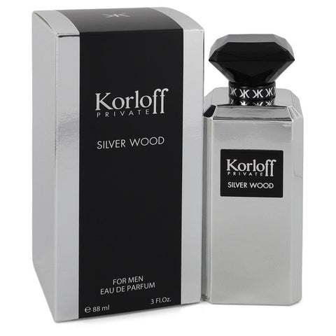 Korloff Private Silver Wood by Korloff Eau De Parfum 3.0 Oz For Men