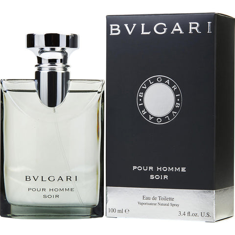 Bvlgari Pour Homme Soir Eau De Toilette Spray for Men 3.4 oz