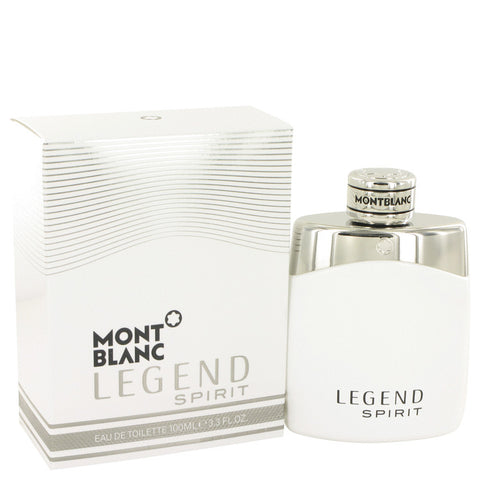 Montblanc Legend Spirit by Mont Blanc Eau de Toilette 3.3 Oz Spray For Men