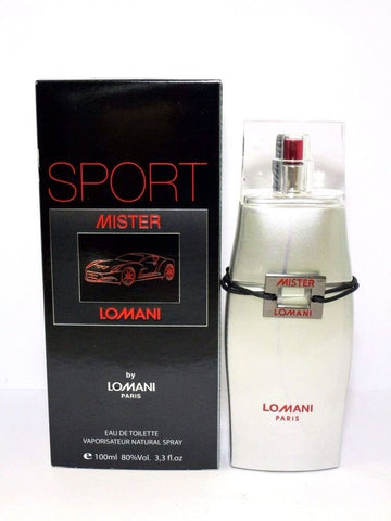 Lomani Sport Mister by Lomani Eau de Toilette 3.3 Oz Spray For Men