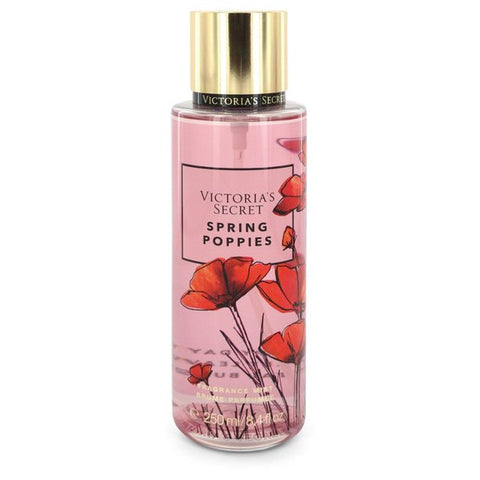 Spring Poppies by Victoria's Secret Fragrance Mist Spray 8.4 oz for Women