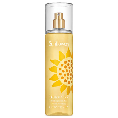 Sunflowers by Elizabeth Arden Body Mist 8.0 Oz Spray For Women