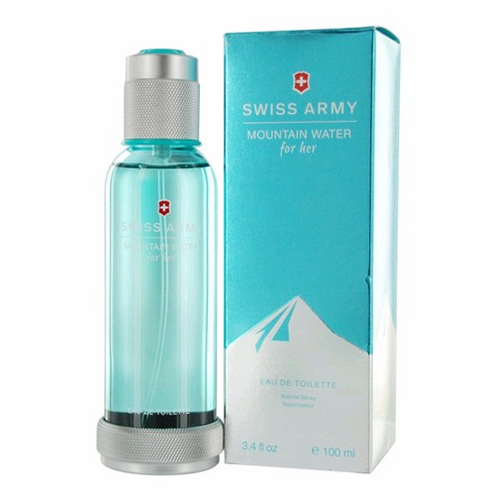 Swiss Army Mountain Water by Swiss Army, 3.4 oz Eau De Toilette Spray for Women