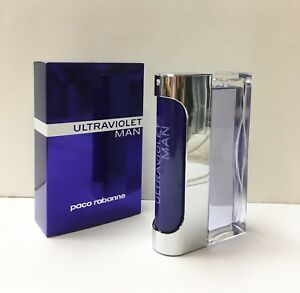 Ultraviolet Man By Paco Rabanne Eau De Toilette 3.4 Oz Spray