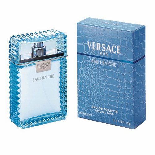 Versace Man Eau Fraiche Cologne by Versace for Men 3.4 oz Spray