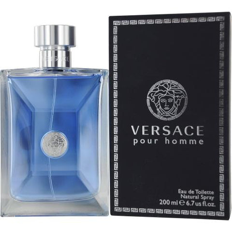 Versace Pour Homme by Versace Eau de Toilette 6.7 Oz Spray For Men