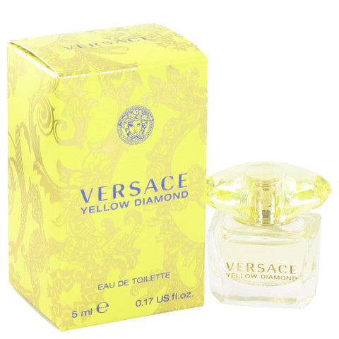 Versace Yellow Diamond by Versace Eau de Toilette 0.17 Oz For Women