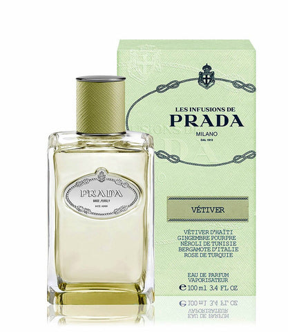 Prada Infusion De Vetiver by Prada Eau De Parfum Spray 3.4 oz for Women